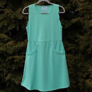 VFish Cute Summer Dress With Scallop Detail NWT!